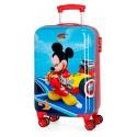 Maleta de Cabina Rígida en ABS Lets Roll Mickey