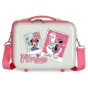 Neceser Rígido Adaptable  con Bandolera Minnie Around The World  Llama Fu