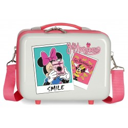 Neceser Adaptable a Trolley con Bandolera Minnie Around The World Go Bananas