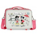 Neceser Adaptable a Trolley con Bandolera Minnie Around The World London