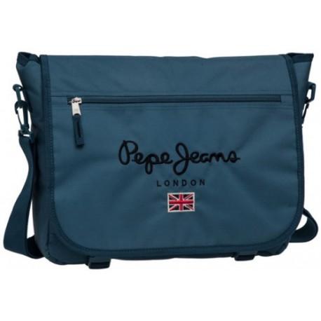 Bandolera Portaordenador Pepe Jeans Original Pepe Blue