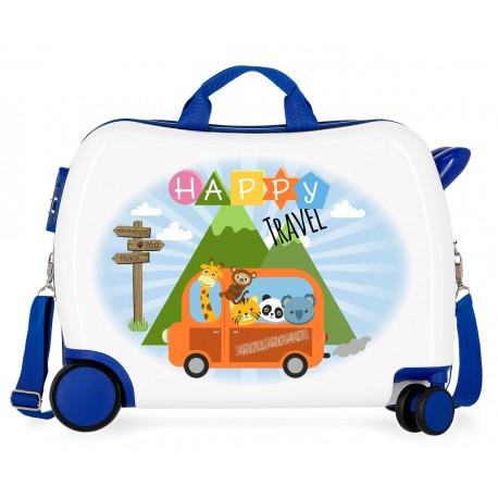 Maleta Infantil 50cm Correpasillos Roll Road Little Me Happy