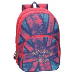 Mochila Doble Compartimento Adaptable a Carro Pepe Jeans London