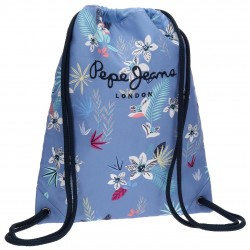 Gym Sac con CREMALLERA  Pepe Jeans London Azul