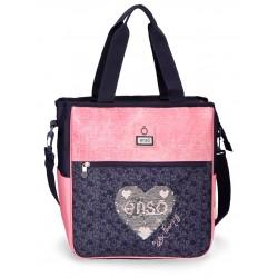 Bolso Shopping Portaordenador con Asa y Bandolera Enso Learn