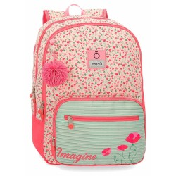 Mochila Grande 44Cm de Doble Compartimento Enso Imagine