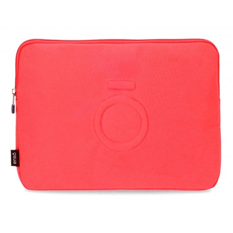 Funda Porta Tablet en Poliéster Enso Basic Color  Coral