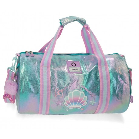 Bolsa de Viaje con Asa y Bandolera Enso Colección Be Mermaid