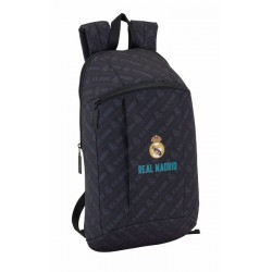 Mochila de Paseo de 39cm del Real Madrid en Negro