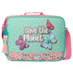 Cartera para Actividades Escolares con Bandolera Movom Save The Planet