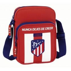 Bandolera del Atlético de Madrid 22cm con Bolso Frontal