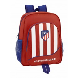 Mochila Junior tamaño Mediano Adaptable a Carro del Atlético de Madrid