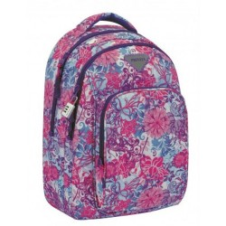 Mochila Grande 45 cm Doble Compartimento Adaptable a Carro Privata Floralise