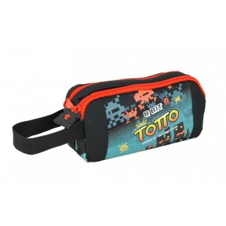 Portatodo Doble Compartimento Maxi Totto Arcade 2vu