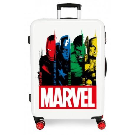 Maleta Mediana Rígida en ABS Power Marvel