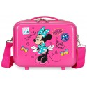 Neceser Rígido en ABS con Bandolera y Adaptable a Trolley Minnie Hi Love