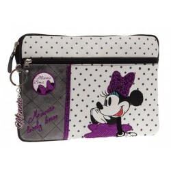 Funda Tablet con bolso lateral Minnie