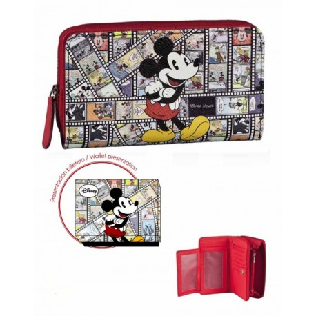 Billetero Monedero Mickey Comic