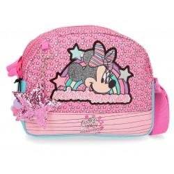 Bolso con Bandolera Semicircular Minnie Colección Pink Vibes