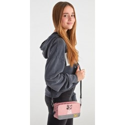 Bolso Bandolera Mickey the Blogger en color Rosa