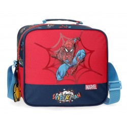 Neceser de 23 cn con Asa y Bandolera Adaptable a Trolley Spiderman Pop