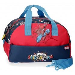 Bolsa de Viaje de 40 cm con Asa y Bandolera Spiderman Pop