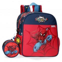 Mochila de Guardería de 25cm Spiderman Colección Pop