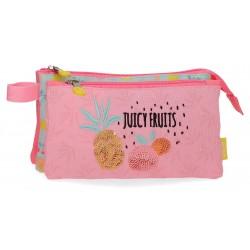 Portatodo Triple Compartimento Enso Colección Juicy Fruits