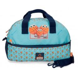 Bolsa de Viaje Infantil de 40 cm con Bandolera Enso colección Basket Family