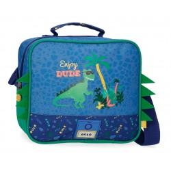 Neceser Infantil con Bandolera y Adaptable a Trolley Enso colección Dino