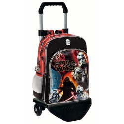 Mochila Doble Compartimento con Carro  Star Wars