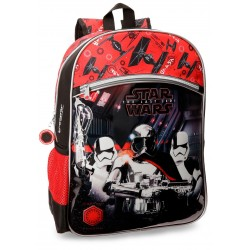 Mochila Mediana con Bolso Frontal  Adaptable a Carro Star Wars VIII