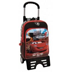 Mochila Infantil Grande 40 cm con Carro Cars Colección Canyon