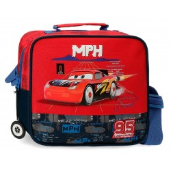 Neceser Infantil Adaptable a Trolley con Bandolera de los Cars rocket Racing