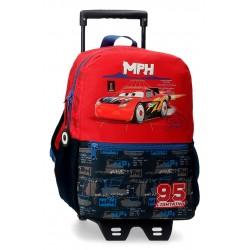 Mochila de Guardería de 32 cm con Carro Cars colección Roquet Racing