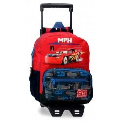 Mochila de Guardería de 28 cm con Carro Cars colección Roquet Racing