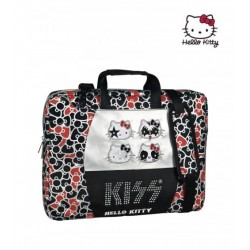 Portaordenador Hello Kitty Kiss