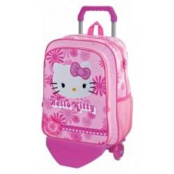 Mochila grande 40 cm con Carro Hello Kitty
