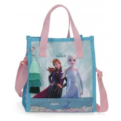 Bolso Shopper con Asa y Bandolera Frozen Find Your Strenghten