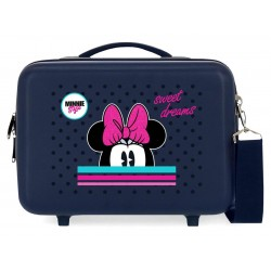 Neceser Rígido Adaptable a Trolley con Bandolera Pc Film Sweet Dreams Minnie