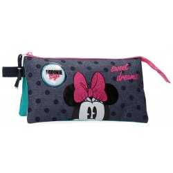Estuche Triple Compartimento Sweet Drams Minnie