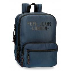 Mochila Mediana de 6 cm Portaordenador 13.3 Pulgadas  Pepe Jeans Bromley azul