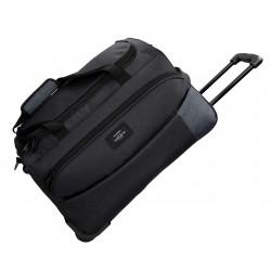 Bolsa de Viaje de 55 cm con bolsos frontales y con Ruedas Movom Band