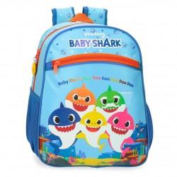Mochila Infantil Pequeña 33 cm  Baby Shark