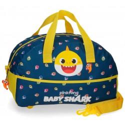 Bolsa de Viaje  Infantil 40 cm con Asa y Bandolera  Baby Shark My  Good Friend