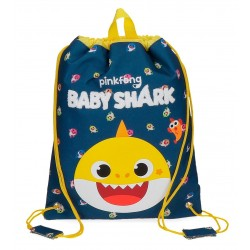 Saco de Cuerdas Infantil  Baby Shark My Good Friend