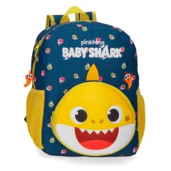 Mochila de Guardería de 32 cm Adaptable a Carro Baby Shark My Good Friend
