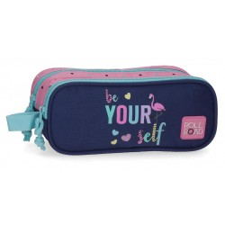Estuche Doble Compoartimento Roll Road Be Yourself