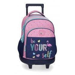 Mochila Compacta de Carro Reforzado Roll Road Be Yourself