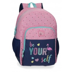 Mochila 46 cm Un Compartimento con Cantoneras Adaptable a Carro Roll Road Be Yourself